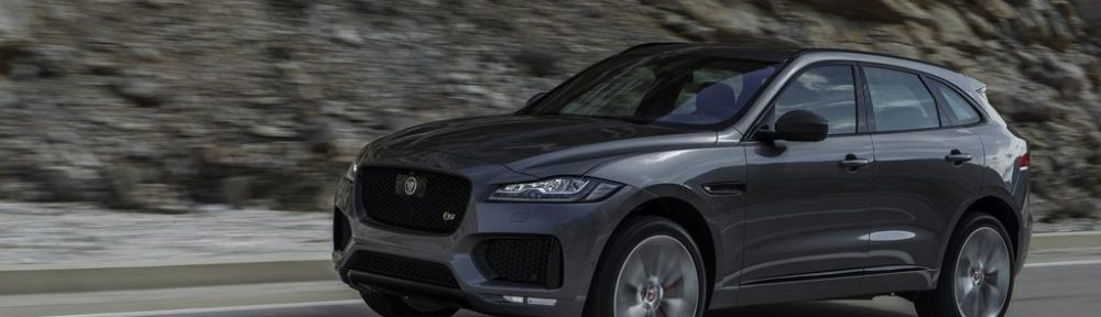 Nuova Jaguar F-PACE Dark Edition