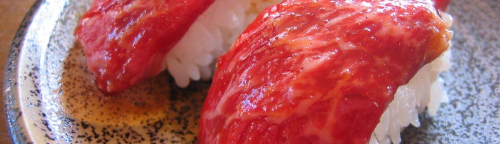 CRUSHI: l'originalissimo sushi di carne... fatto in casa!