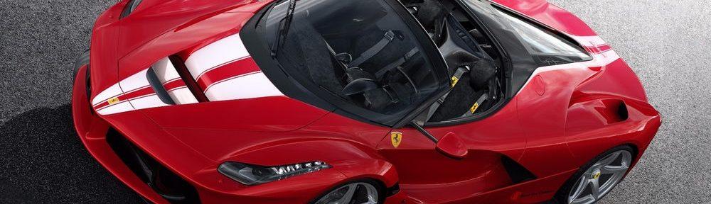 LaFerrari Aperta: l'auto più costosa di tutti i tempi