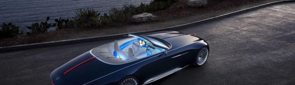 Arriva la Mercedes Maybach 6, l'auto del futuro dalle linee vintage